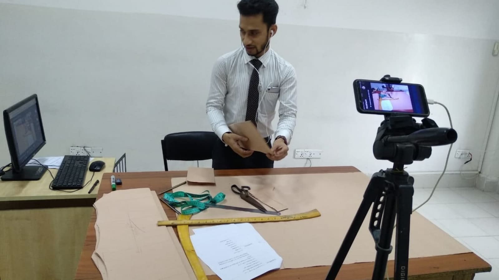 Daffodil Polytechnic Workshop for Garment Design and Pattern Making Technology
